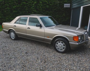 classic mercedes 420s 420 s-class w126 for sale dublin ireland