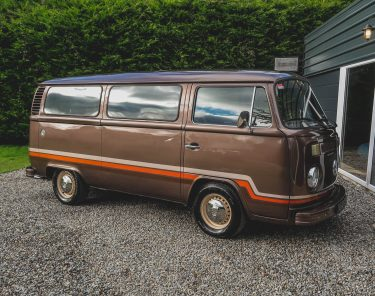 classic volkswagen vw type 2 t2 bus camper toffee brown for sale dublin ireland