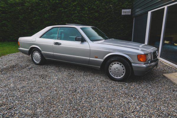 classic mercedes 560 sec silver for sale dublin ireland